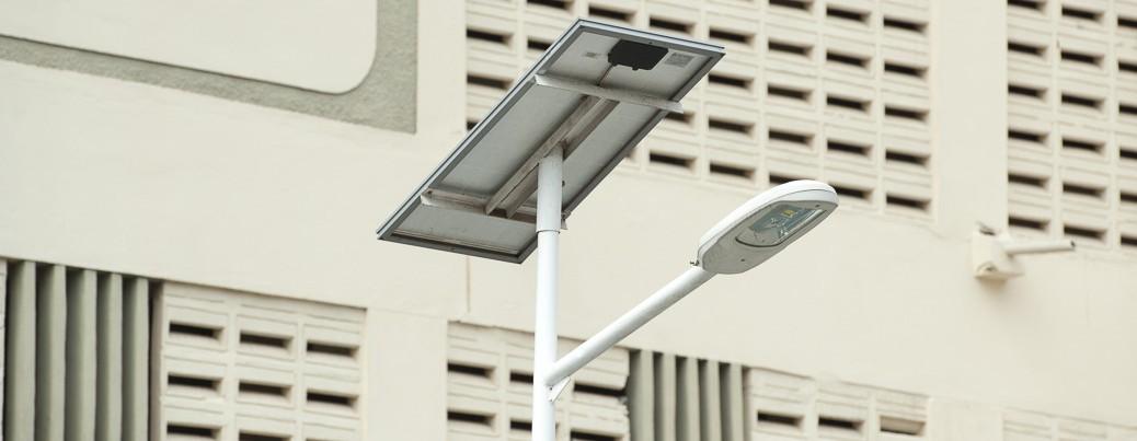 Solare Straßenlaterne